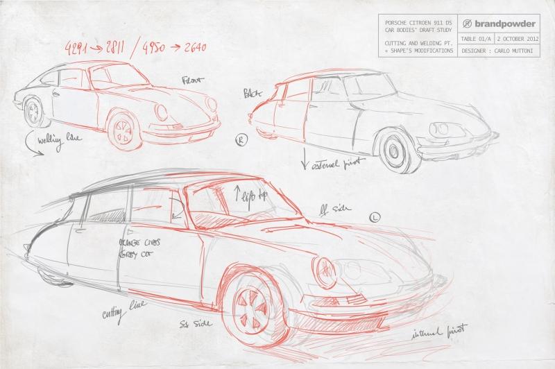 Porsche Citroen 911 DS 2.3 L ST